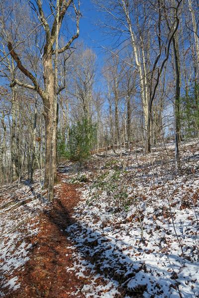 Appalachian Trail -- 2,400'