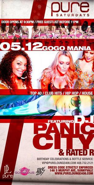 5/12 [Go Go Mania@Pure Lounge]