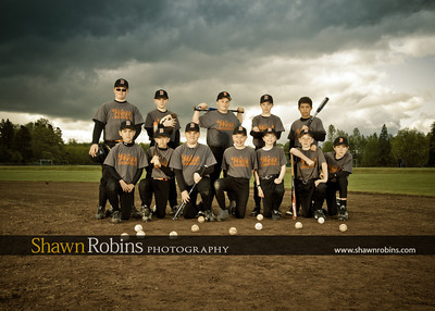 Blaine Baseball 2012, Team Pictures - Circa