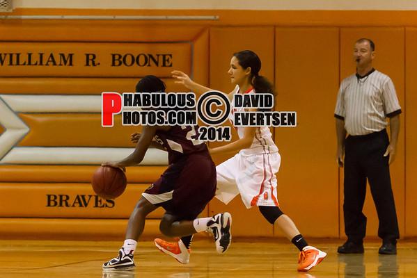 Boone Girls Varsity Basketball #5 - 2013