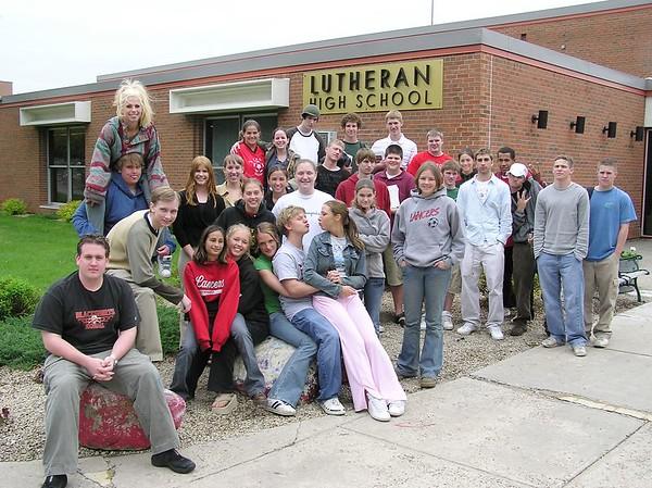 Senior Class Group Photos 2004