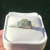 2.10ct Art Deco Peruzzi Cut Diamond Ring, GIA W-X SI2 16