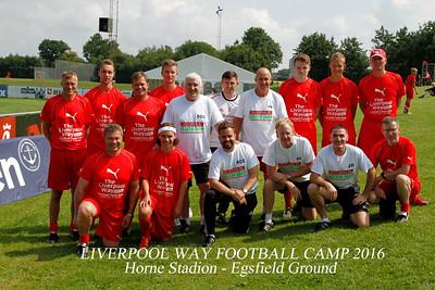 LIVERPOOL WAY FOOTBALL CAMP 2016