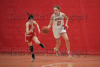 Girls Basketball East Providence at Portsmouth on 1/9/20
