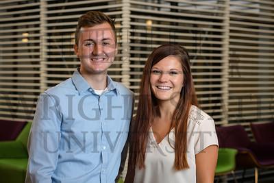 51020 WSU Foundation Board Student Representatives Aaron Brautigam & Sonja Wolf 7-25-19