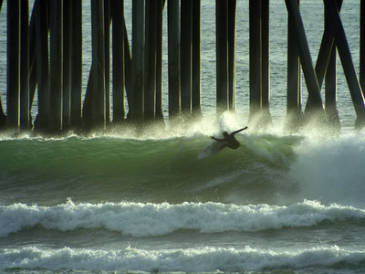 1/30/20 * AFTERNOON SESSION * DAILY SURFING PHOTOS * H.B. PIER