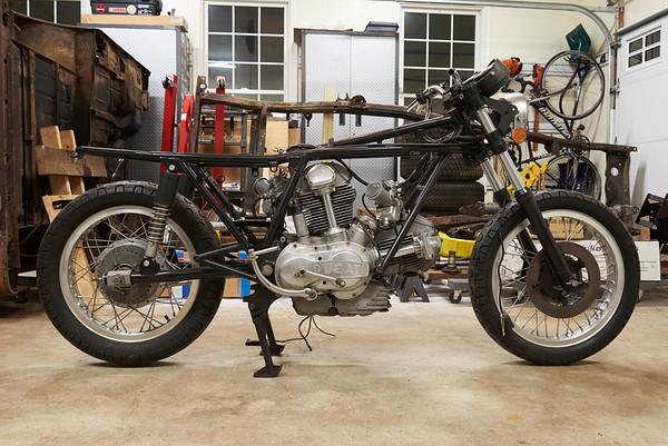 1974 Ducati 750 GT Restoration Project