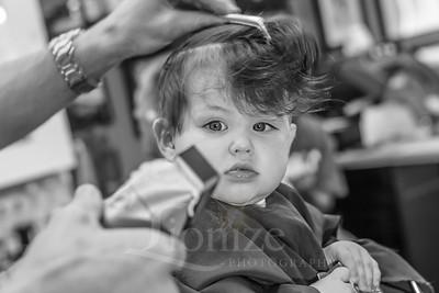 Arlo's First Haircut