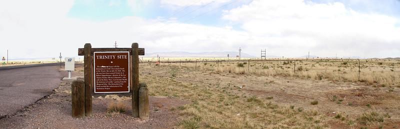 Trinity (Nuclear Test) Site, NM (Apr. 5 2014)