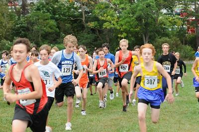 Boys Middle School Race