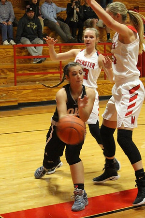 Lady Bulldogs vs. Muenster, 11/29/2016