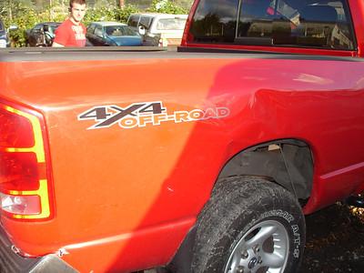 Dodge wreck