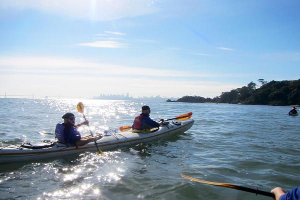 Angel Island Kayaking: Jan 26, 2014