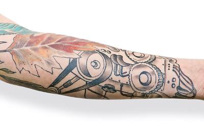 Show me your tatts: Kjartan Ericsson (Metal Hammer)
