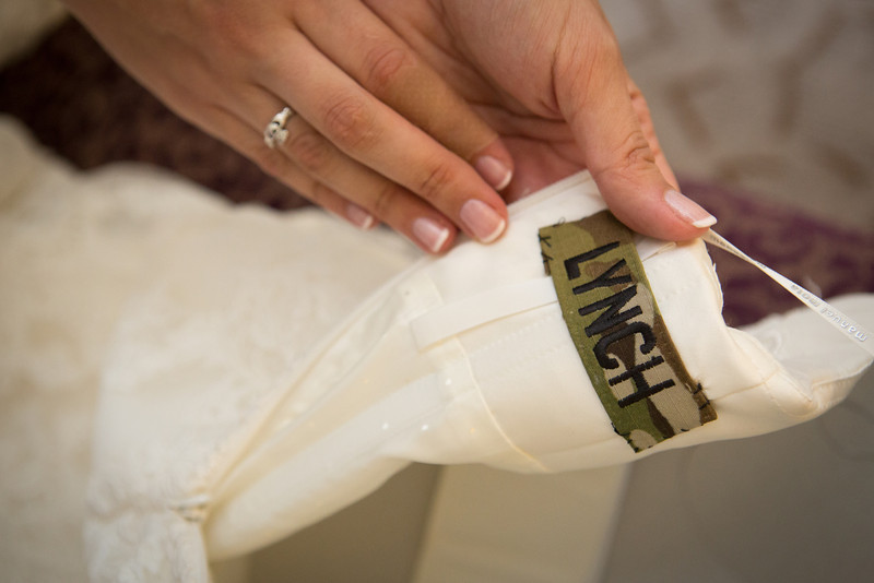 Preparations for a wedding at the Radisson in Rockford, IL. Wedding Photographer - Ryan Davis Photography, Rockford IL.