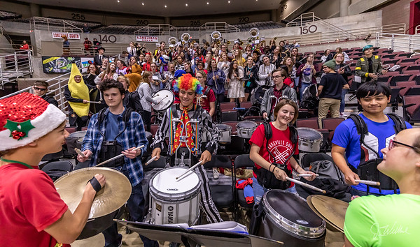 Lakeville South Pep Band - Mayo Civic Center - 31-Oct-2018
