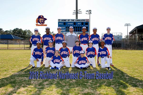 2018 B-Team Baseball