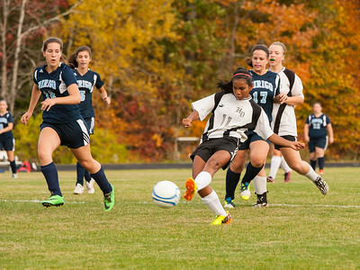 Oct. 15 Soccer:  HD vs Dirigo Girls