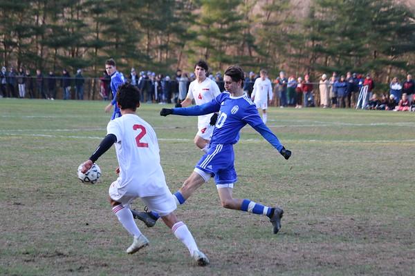 Wahconah Boys Soccer vs. Hampshire, Western Mass quarterfinal - 111019