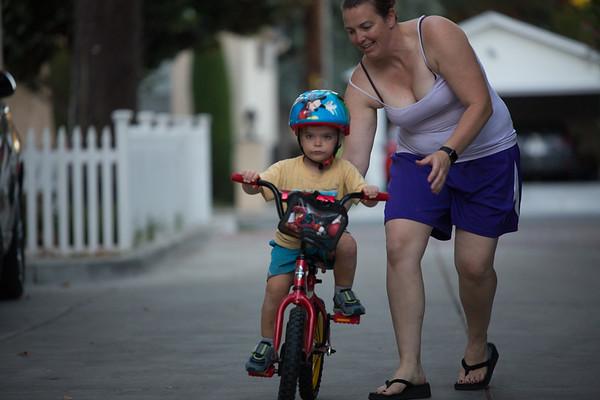 Abby & Christians Bike Riding & Skateboarding, Summer 2017