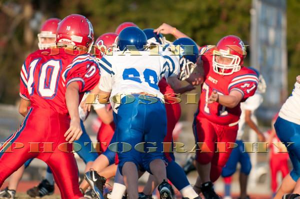 Fontainebleau Jr vs. Boyet - 7th Grade (10-18-2010)