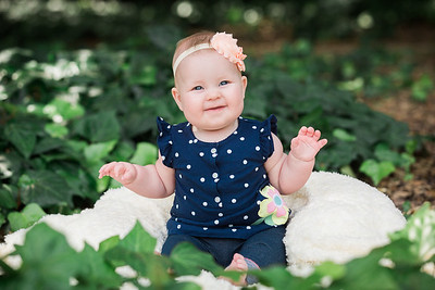 Aubrey's Six Month Portraits - Spring 2016
