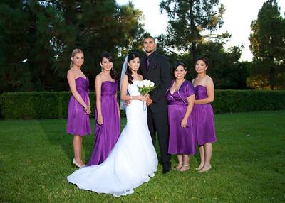 Ruby  Vera and Leonardo  Gomez wedding day