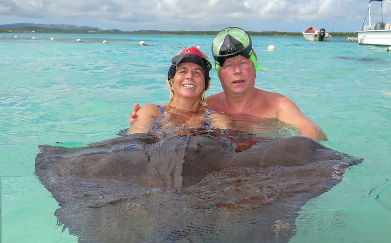 Antigua, Swim with stingrays - November, 2018