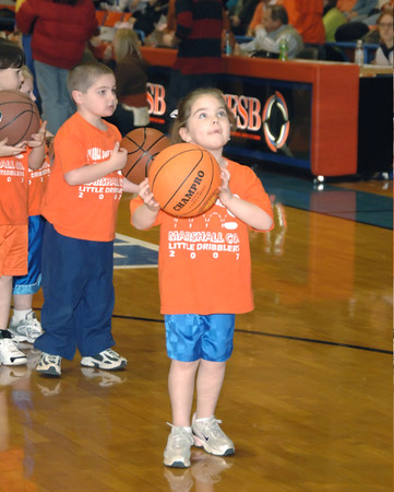 Marshall County Little Dribblers - Preschool & Kindergarten  -  January 4, 2008