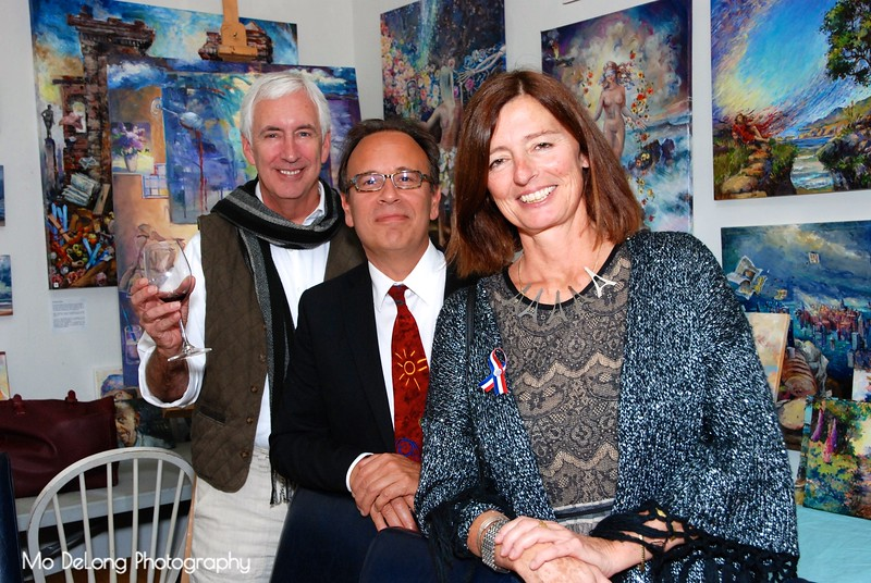 Eric Fruge, Marc and Christine Rossano.jpg