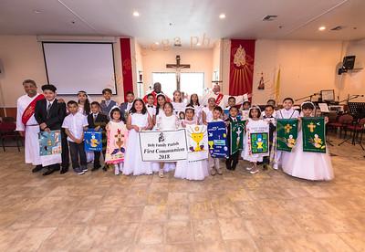 2018 HF Holy Communion 1 Group