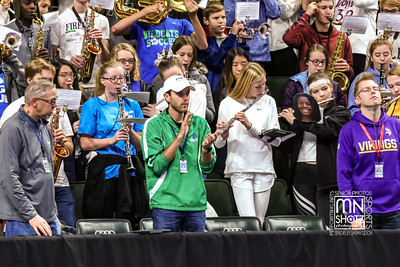 Pep Band, Parents and The Pit - State Semi Finals