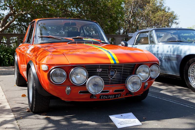 Edward Levin's 1970 Lancia Fulvia 1.6 HF