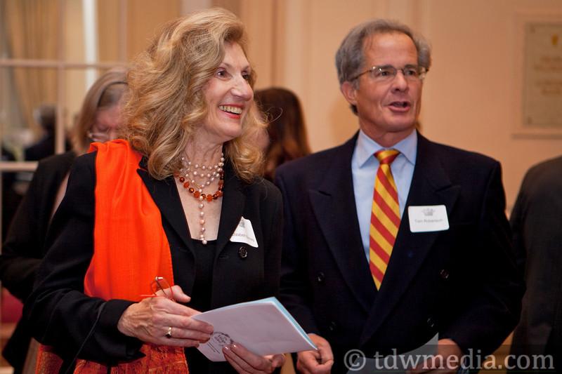 Elizabeth Bonney and Tom Robertson