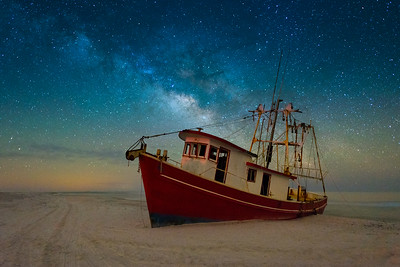 Boat and Milkyway