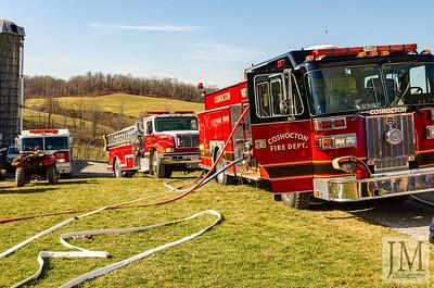 11-26-19 Three Rivers FD - House Fire