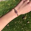 .86ctw Art Deco Ruby and Diamond Link Bracelet 7