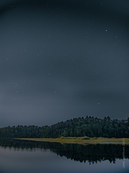 Looking for the Milky Way on Spanish Lake