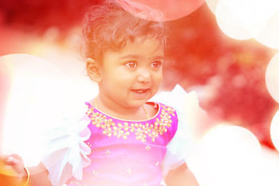 Happy 1st Birthday Shloka