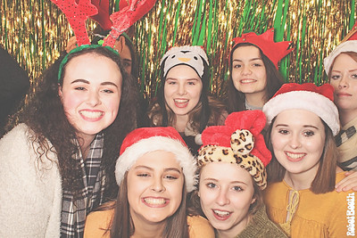 12-17-17 Atlanta Chik-fil-A Photo Booth - 2017 Team Christmas Party - Robot Booth