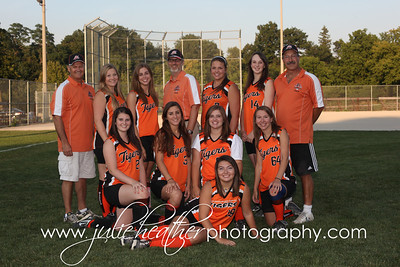Girls Softball Team Photos 2012