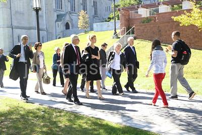 Trinity College - German Delegation & Tour - October 5, 2014