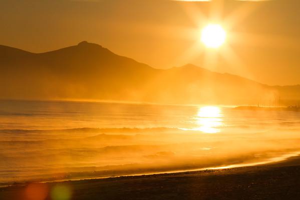 Salida del sol en Parc natural de s'Albufera