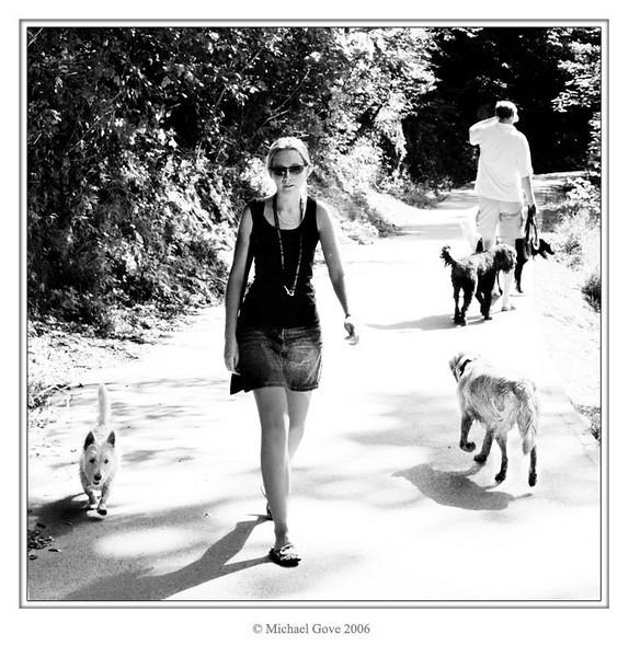 Dog walking in Blaise Castle grounds (64210740).jpg