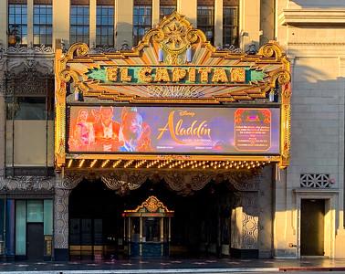 El Capitan Theatre - Aladdin (2019)