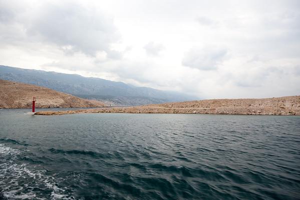 Ferry to Jablanac