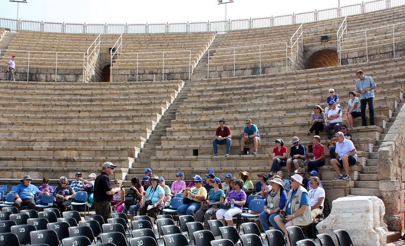 10 - caesarea maritime ancient amphitheater