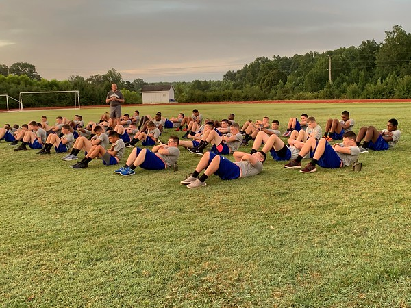 Morning PT for Cadet Leaders