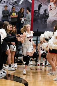 CCS Homecoming Varsity Girls Basketball