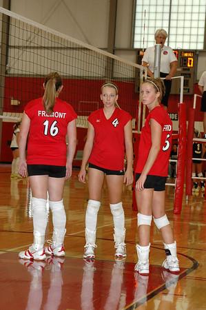 Girls JV Volleyball - 2007-2008 - 9/22/2007 Ravenna JG